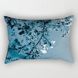 Spring Synthesis in Monochrome Rectangular Pillow