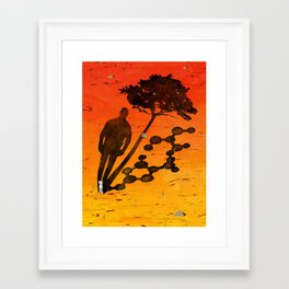 """Identity"" by Jackie Ferrentino for Nautilus Framed Art Print"
