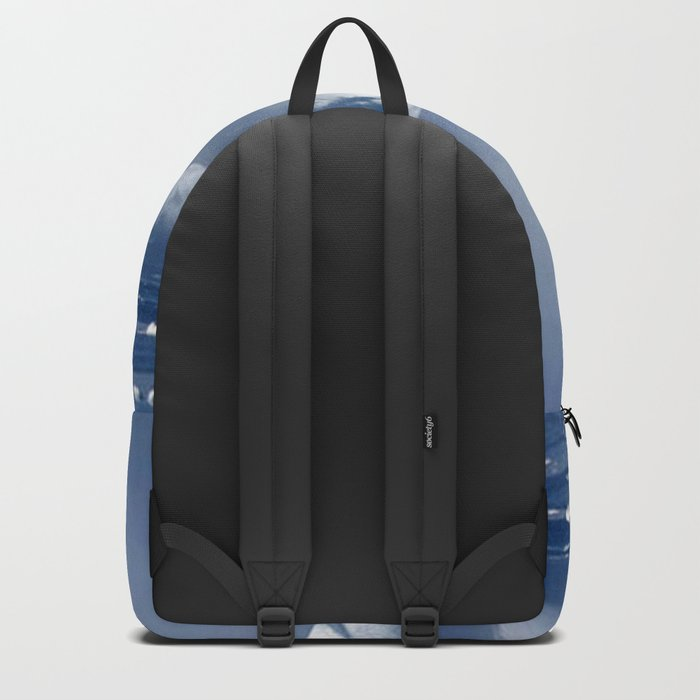 Blue White Tiger Backpack