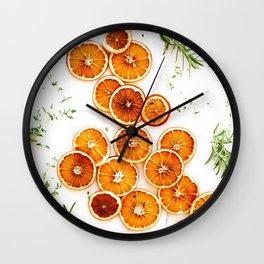 Pure Citrus (Color) Wall Clock
