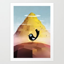 The Magic Empire Art Print