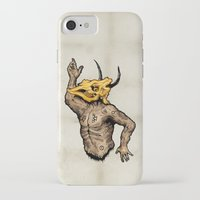 taurus iPhone & iPod Cases featuring Taurus by sociopteryx