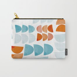 Half Moons Pattern Carry-All Pouch