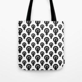 Feminist Symbol Tote Bag