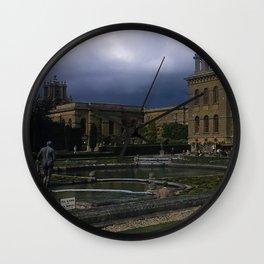 Blenheim Palace * 1950's * Vintage England Photo * Kodachrome * Color * Travel Photography Wall Clock