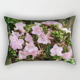Pink Tree Rectangular Pillow