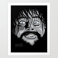 wwe Art Prints featuring WWE - Bray Wyatt by Chaotic Color