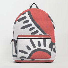 Keith Haring American 1958–90 Untitled 1982 Backpack