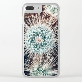 Cactus Study #1 Clear iPhone Case