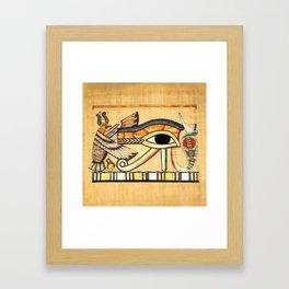 Egypt Nekhbet Eye Horus Framed Art Print