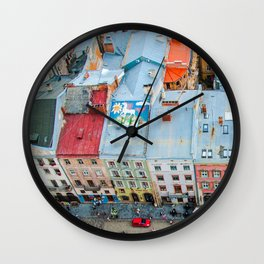 panorama Lviv Wall Clock