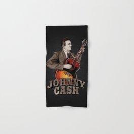 Johnny Cash Hand & Bath Towel