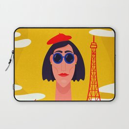 I Love Paris Laptop Sleeve