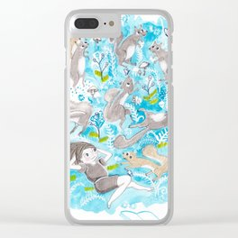 The Meadow Refuses No Squirrel Clear iPhone Case
