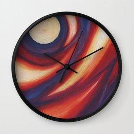 Crepuscular Vortex Wall Clock