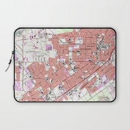 Vintage Map of Riverside California (1967) Laptop Sleeve