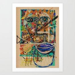 - l'esprit d'une vie - Art Print