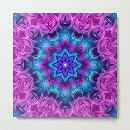 Floral Abstract G269 Metal Print