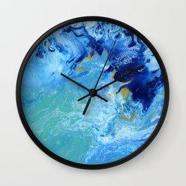 Ocean Swell Wall Clock
