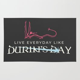 Durin's Day Rug