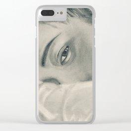 Kai | Sweet Dreams Clear iPhone Case
