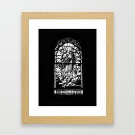 Centralia Window Framed Art Print