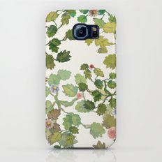 water color garden with flowers! ( Slim Case Galaxy S7