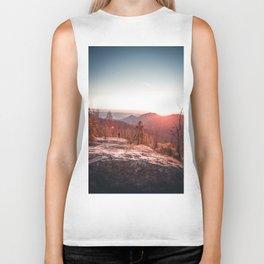 Sunrise Mountain (Color) Biker Tank