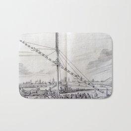 Johannes Hevelius - Celestial Devices, Part 1 - Plate 1 Bath Mat