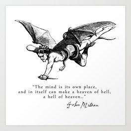 Heaven and Hell Art Print