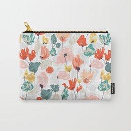 Wild Beauty Saffron Carry-All Pouch