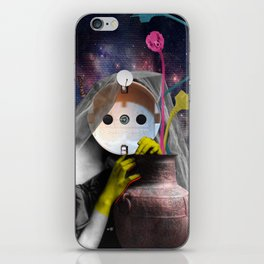 Salome electrify me iPhone Skin
