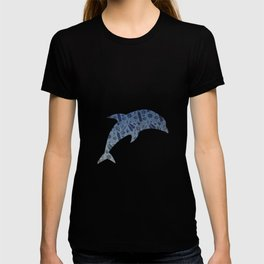 Scuba Dive Underwater Pattern T-shirt