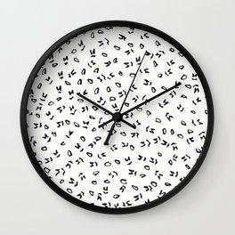 NY1830 Wall Clock