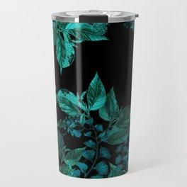 Dark Forest (Emerald / Black) Travel Mug