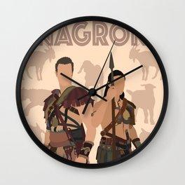 Nagron Goat Farm (Spartacus) Wall Clock