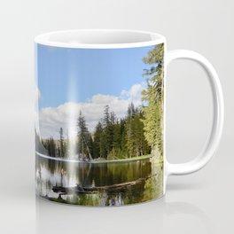 mosquito lake in vertical stripes Coffee Mug