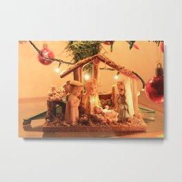 Nativity Scene Metal Print