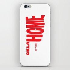 oklaHOME iPhone & iPod Skin