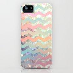 New World Chevron Pastel Slim Case iPhone (5, 5s)