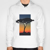 africa Hoodies featuring Africa by Trevor Seymour
