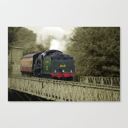 forget the snorting steam and piston stroke Canvas Print