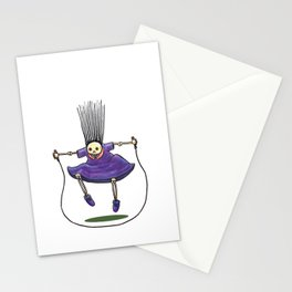 Jumprope Girl Stationery Cards