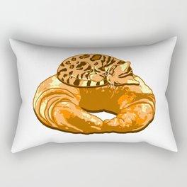 Croissant Bengal Rectangular Pillow
