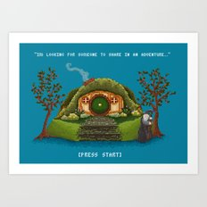Share in an Adventure Art Print