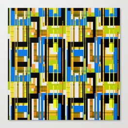 Abstract pattern . Line 2 . Canvas Print