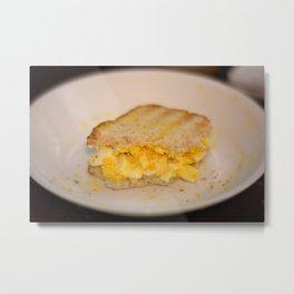 Egg salad with Oatmeal Toast Metal Print