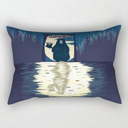 Bad Bear Camp Rectangular Pillow