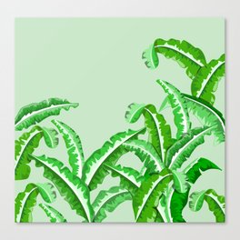 Silverbeat Vegetable pattern Canvas Print