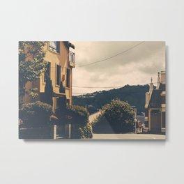 Wellington Yellow Metal Print